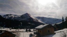 Montañas blancas Foto de archivo libre de regalías