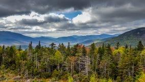 Montañas blancas en New Hampshire foto de archivo libre de regalías