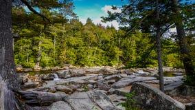 Montañas blancas en New Hampshire fotografía de archivo