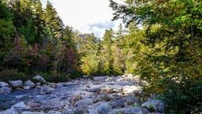 Montañas blancas en New Hampshire fotos de archivo libres de regalías