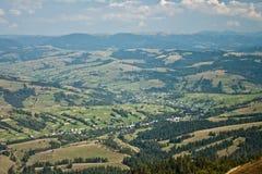 Montañas cárpatas Fotos de archivo libres de regalías