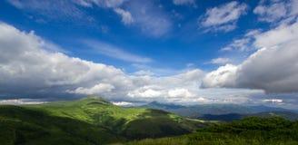 Montañas cárpatas Foto de archivo libre de regalías