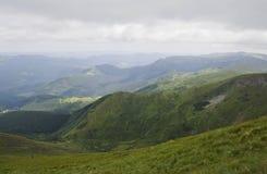 Montañas cárpatas Foto de archivo