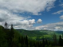 Montañas cárpatas Imagenes de archivo