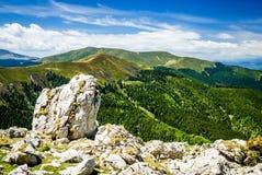 Montañas cárpatas, Rumania Foto de archivo libre de regalías