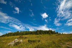 Montañas caucásicas Foto de archivo libre de regalías