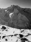 Montañas caucásicas rusas Imagen de archivo libre de regalías