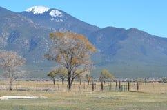 Montañas cerca de Taos, nanómetro Fotografía de archivo