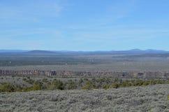 Montañas cerca de Taos, nanómetro Imágenes de archivo libres de regalías
