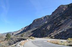 Montañas cerca de Taos, nanómetro Imagen de archivo