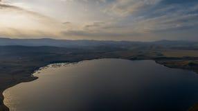Montañas cerca del lago Bannoe, república Bashkortostan, Rusia Fotografía de archivo libre de regalías