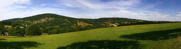 Montañas checas Imagen de archivo libre de regalías