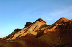 Montañas coloridas Fotografía de archivo
