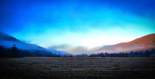 Montañas coloridas Foto de archivo libre de regalías