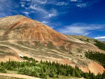 Montañas coloridas Fotos de archivo