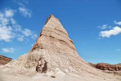 Montañas coloridas de Quebrada de las Conchas, la Argentina Imagen de archivo