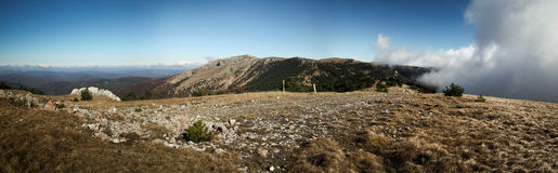 Montañas crimeas Imagen de archivo libre de regalías
