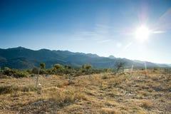 Montañas croatas Imagenes de archivo