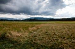 Montañas de Adirondack en Nueva York fotografía de archivo libre de regalías