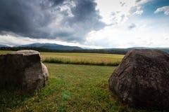 Montañas de Adirondack en Nueva York foto de archivo