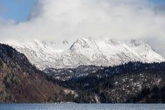 Montañas de Alaska en el Kenai Pennsula Imágenes de archivo libres de regalías