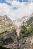 Montañas de Aletsch fotos de archivo