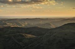 Montañas de Algarve Foto de archivo libre de regalías