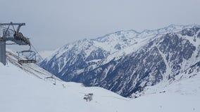 Montañas de Almaty Foto de archivo libre de regalías
