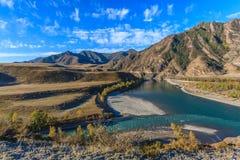 Montañas de Altai Fotografía de archivo