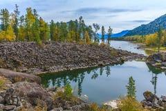 Montañas de Altai Foto de archivo libre de regalías