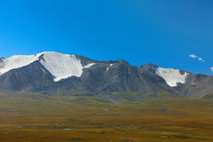 Montañas de Altai Paisaje hermoso de la montaña mongolia Imagenes de archivo