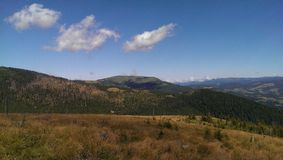 Montañas de Apuseni Imagen de archivo libre de regalías
