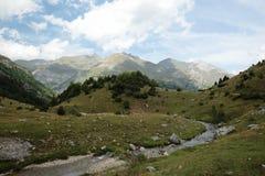 Montañas de Aragón Fotos de archivo libres de regalías