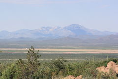 Montañas de Arizona Foto de archivo