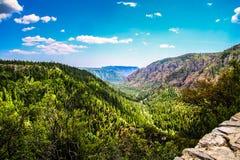 Montañas de Arizona Imagen de archivo