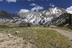 Montañas de arriba imagen de archivo