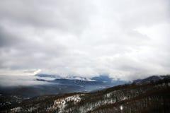 Montañas de Balcanes, Macedonia imagen de archivo libre de regalías