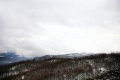 Montañas de Balcanes, Macedonia fotografía de archivo libre de regalías