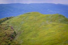 Montañas de Bieszczady en Polonia Fotos de archivo libres de regalías