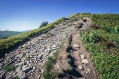 Montañas de Bieszczady en Polonia Fotos de archivo