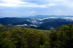 Montañas de Blueridge Foto de archivo libre de regalías