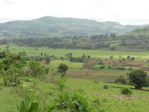 Montañas de Boko Imagen de archivo libre de regalías