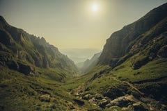 Montañas de Bucegi Fotografía de archivo