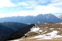 Montañas de Bucegi - Rumania Foto de archivo libre de regalías