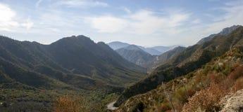 Montañas de California imágenes de archivo libres de regalías