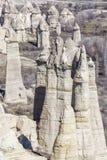 Montañas de Capadocia Imagen de archivo libre de regalías