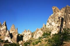 Montañas de Cappadocia imágenes de archivo libres de regalías