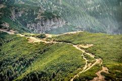 Montañas de Ceahlau Fotos de archivo libres de regalías