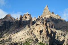Montañas de Cerro Catedral en Bariloche Fotos de archivo libres de regalías