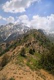 Montañas de Chimgan, Uzbekistán Imágenes de archivo libres de regalías
